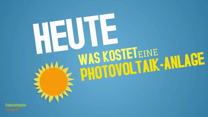 video photovoltaik preise
